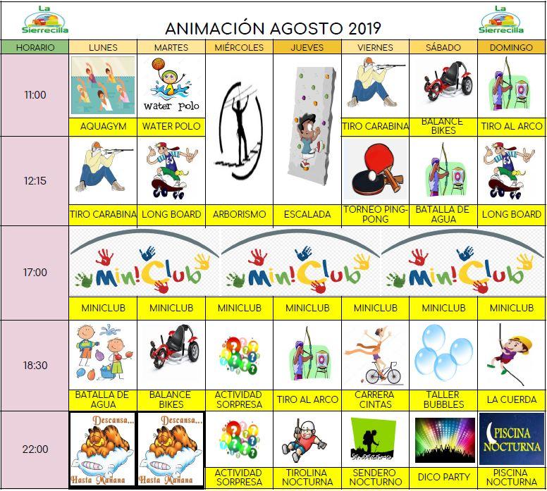 animacion agosto sierrecilla - Activities and Entertainment